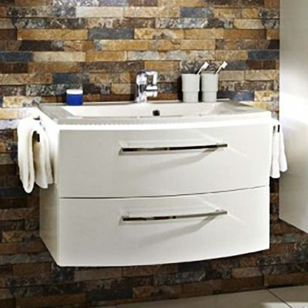 Lunic 800 Wall Hung Vanity Unit Including Basin Online