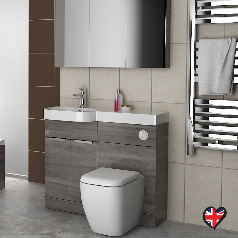 Gravity Combination Vanity Unit Blue And Basin Buy Online