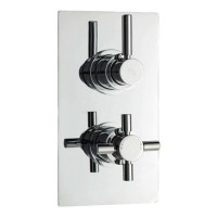 tec Pura Twin Concealed Thermostatic Shower Valve Buy ...
