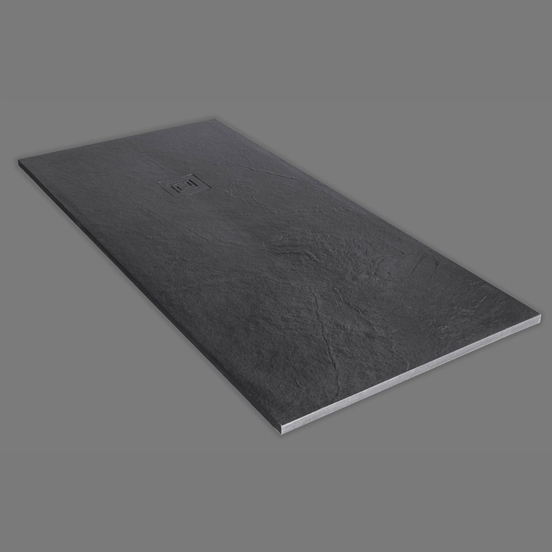 Truestone Rectangular Shower Tray Slate Black Buy Online