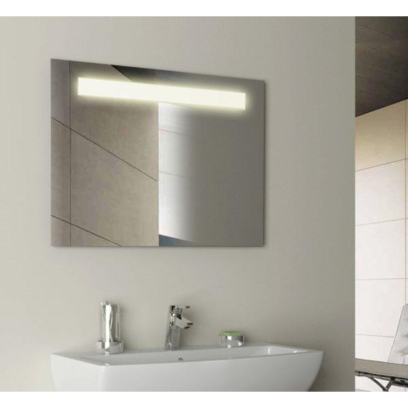 Gem Rectangular Illuminated Mirror Buy Online at Bathroom City