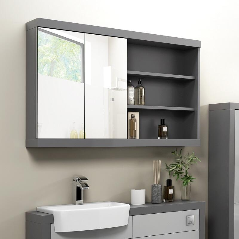 Grove Mirror Cabinet 1200 Buy Online At Bathroom City