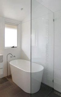 Fixed Panel Shower Screen - $0.00 : ::BATHROOM DIRECT, All ...