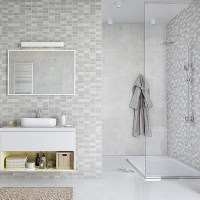 Marmo Mosaic Bathroom Panels - The Bathroom Marquee
