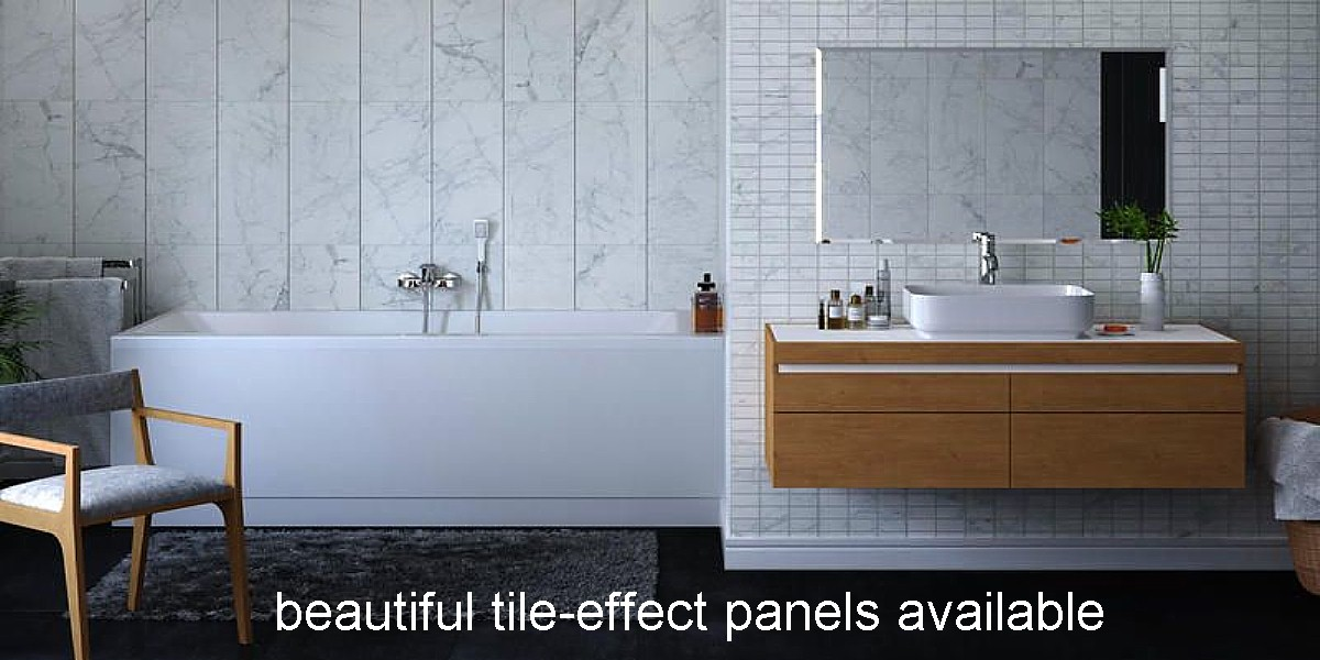 panel over existing tiles the