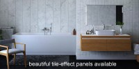 Bathroom Panels Instead Of Tiles. Excellent Service With ...