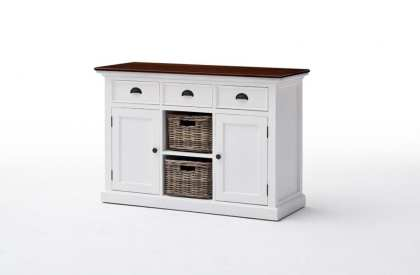 Elegant Cabinet with Two Baskets