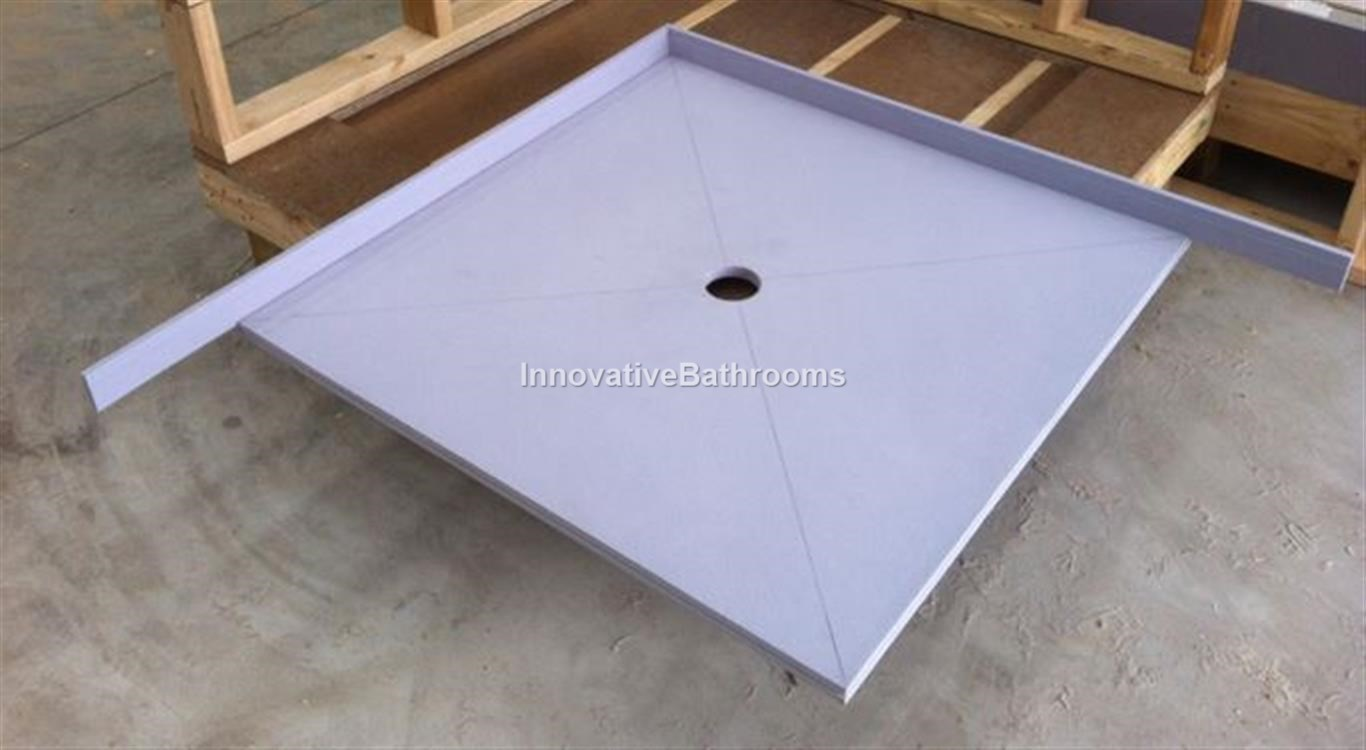 waterproof tile over tray up to 1500
