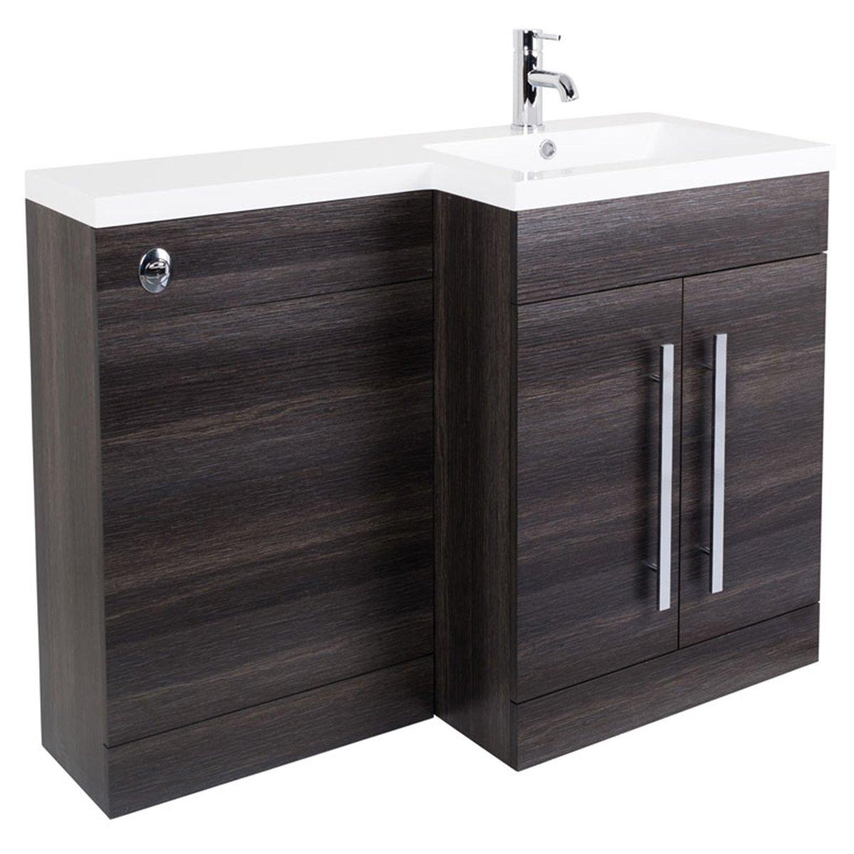 Bathroom Vanity Unit Designer Furniture Suite Back To Wall