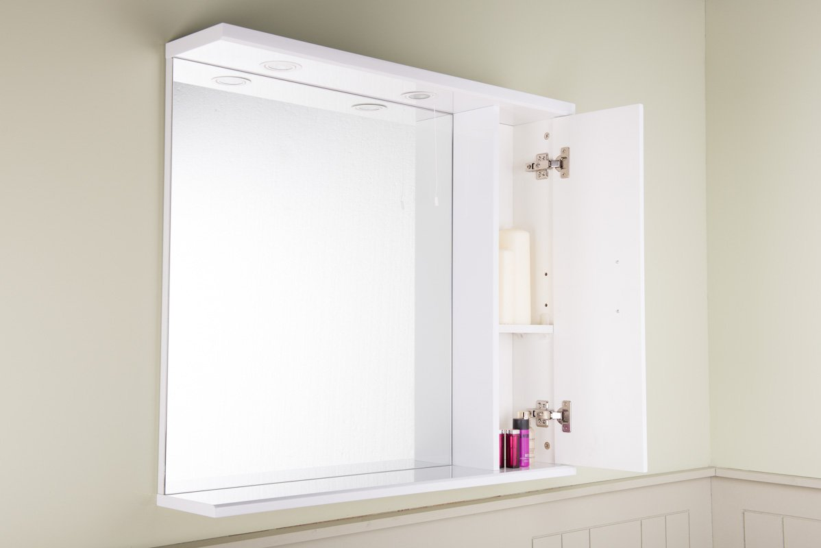 Book Of Bathroom Mirrors With Storage In Ireland By Olivia