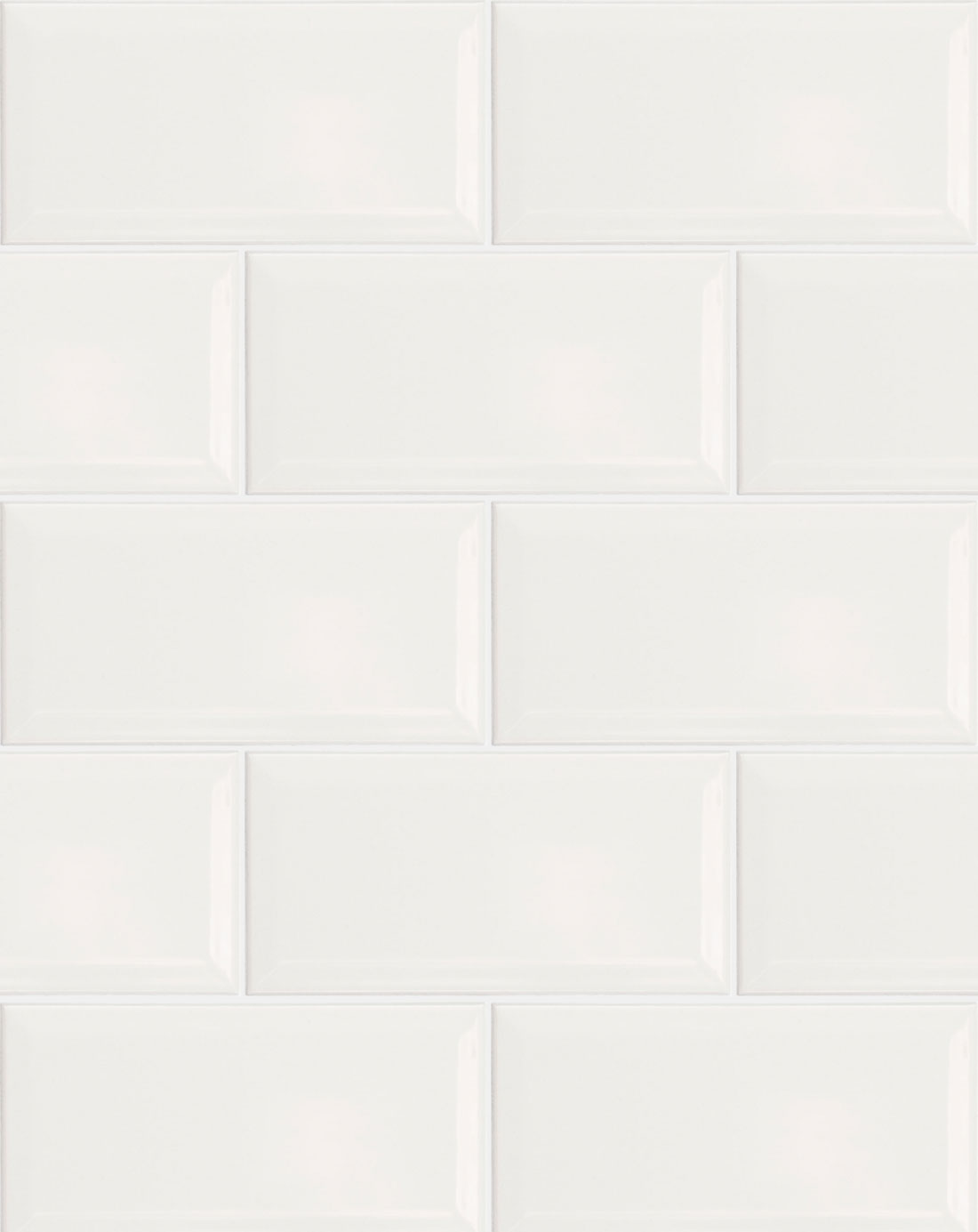 Metro White Wall Tile  Bathroom Tiles Direct