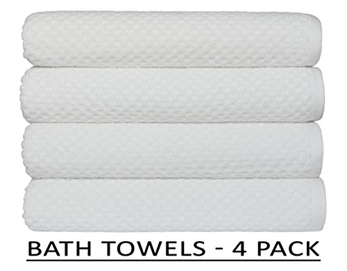 Hotel and Spa White Towels SNOWT Cotton Craft Premium Bath Towel Quality Super Soft,100/% Ring-Spun Cotton Towels for Home
