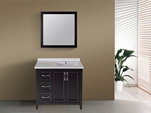 Horizontal Recessed Mirrored Bathroom Cabinets