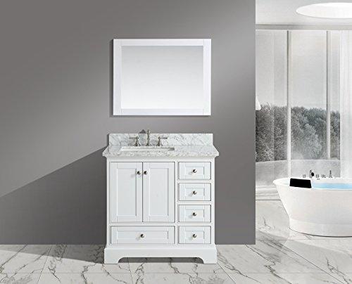 Kichler Barrington 3 Light 22 In Cylinder Vanity Light At: Jocelyn 36-Inch (36″) Bathroom Sink