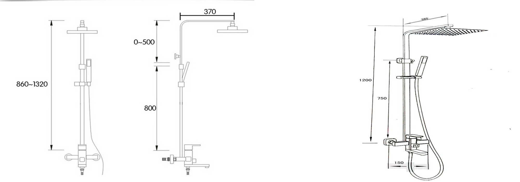 Odele Bathroom Fittings Installation Instructions