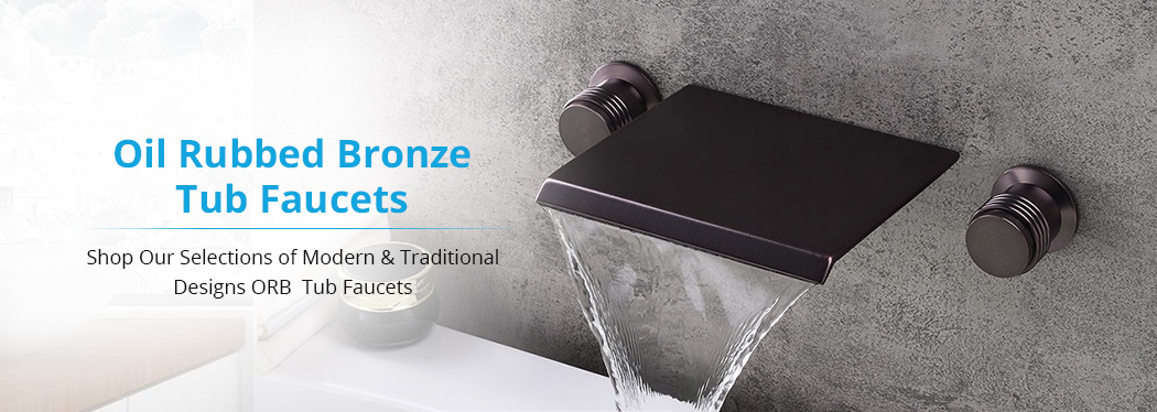 oil rubbed bronze tub faucets bathselect