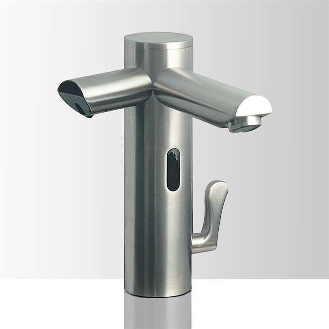 lenox commercial dual automatic sensor faucet with sensor soap dispenser