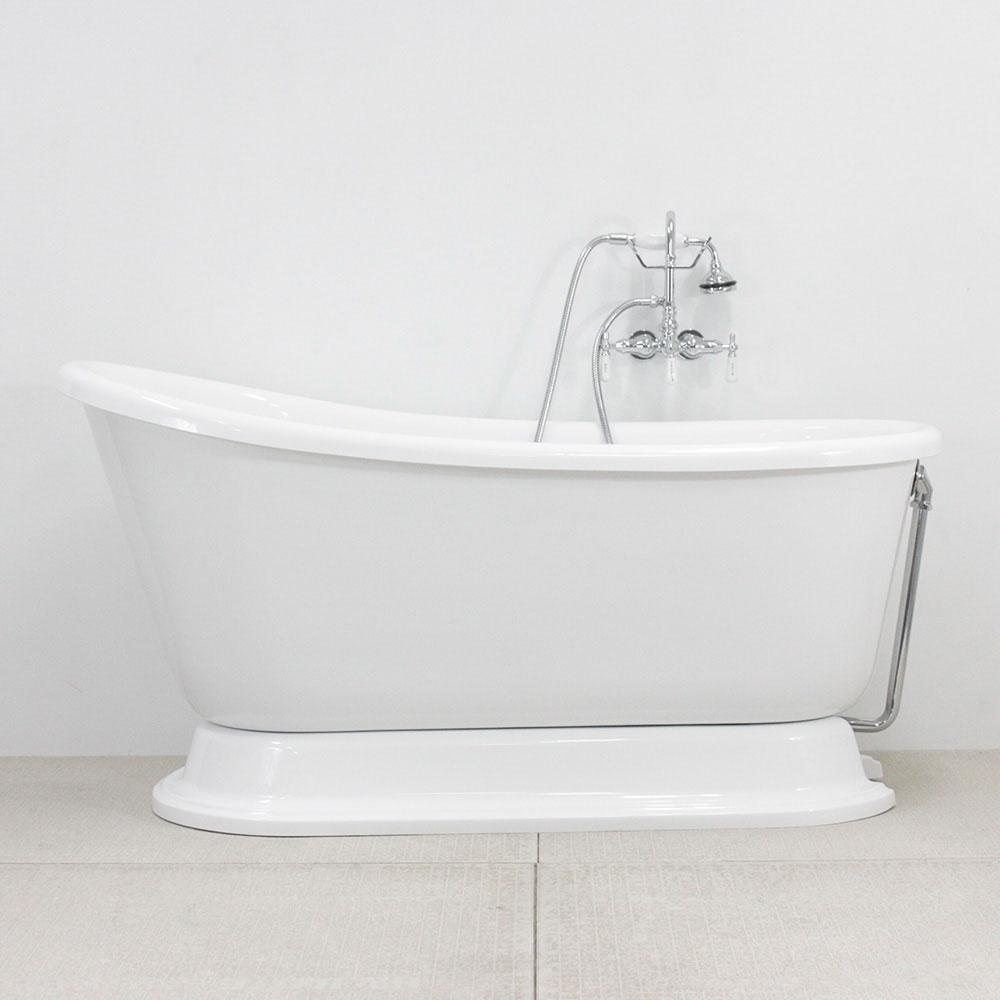 Vintage Whirlpool Air Jetted Free Standing Pedestal Bath