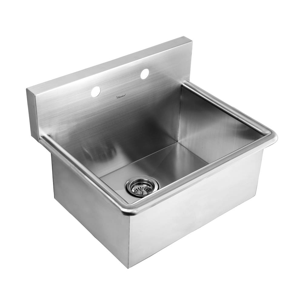 noah s collection brushed stainless steel commercial drop in or wa