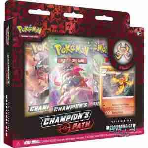 Pokemon TCG Champions Path Pin Collection Motostoke Gym