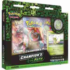 Pokemon TCG Champion's Path Pin Collection - Turffield Gym
