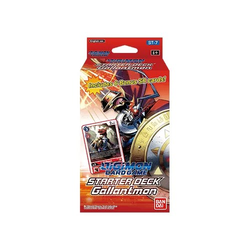 Digimon Card Game: Starter Deck Gallantmon ST-7