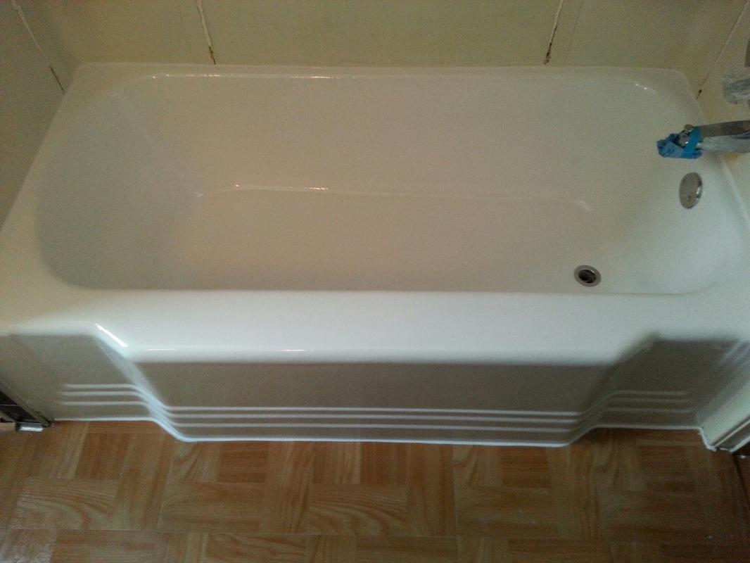 Amazing Rehad 1920s Cast Skirted Tub Bathtub
