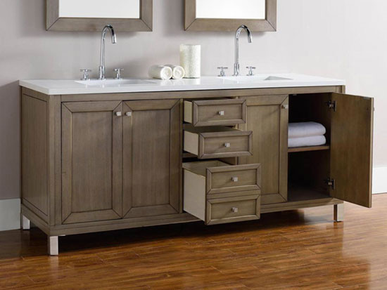 James Martin Chicago double 72Inch Transitional
