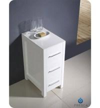"Fresca Torino 12"" Transitional Bathroom Linen Side Cabinet ..."