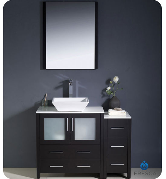 Fresca Torino single 42inch Modern Bathroom Vanity