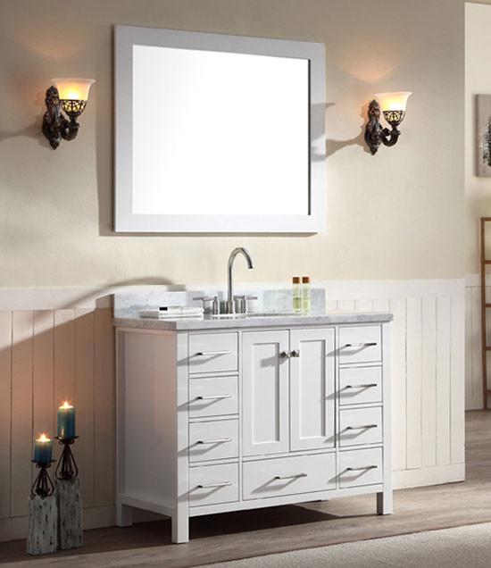 Ariel Cambridge single 43Inch Modern Bathroom Vanity