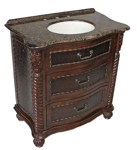 Lymon single 32Inch Antique Bathroom Vanity