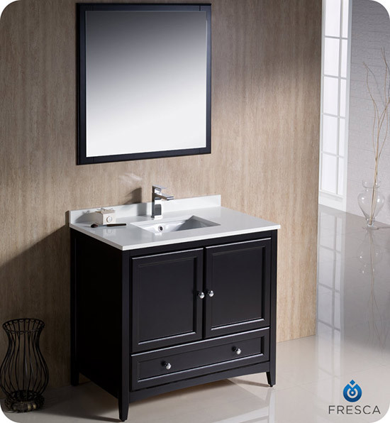 Fresca Oxford single 36inch Transitional Bathroom