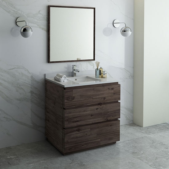 36 inch modern modular bathroom vanity