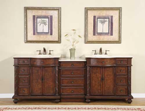 Pearce double 9025Inch Modular Bathroom Vanity