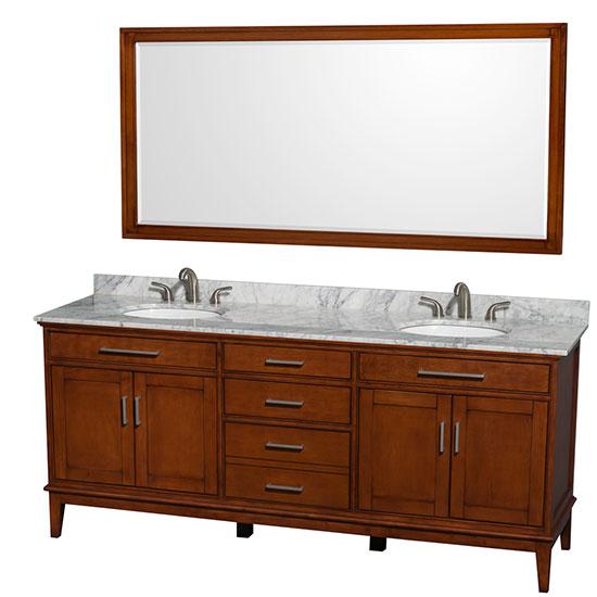 72 inch and wider bathroom vanities