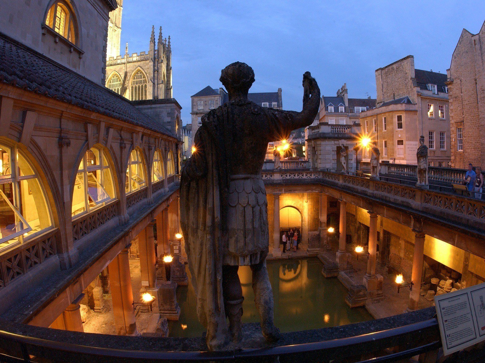 Hire the unique Roman Baths for weddings and drinks receptions  Bath Venues
