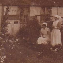 Flower Gardens at the Bath War Hospital