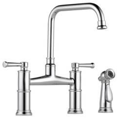 Bridge Faucets Kitchen Moen Faucet Leaking Bathworks Showrooms Brizo Canada Item 62525lf Pc