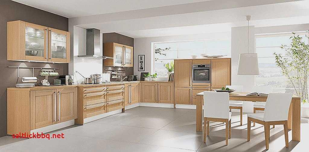 Peinture cuisine avec meuble bois clair  Ides de travaux