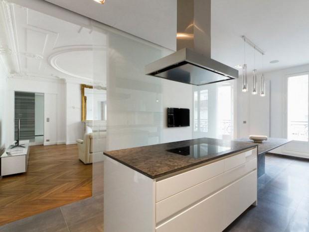 Un Appartement Haussmannien Renat Avec Style