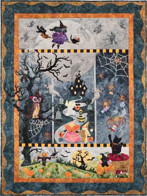 In Boo Moon - Complete Quilt Laser Cut Kits
