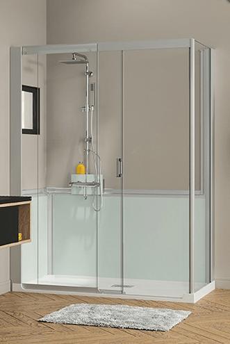 Remplacer sa baignoire ou receveur douche par une cabine - Remplacer sa baignoire par une douche sans travaux ...