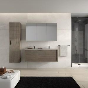 Meuble plan vasque salle de bains Batinea Emma