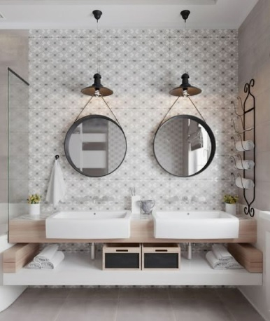 Idees Pour Une Salle De Bain Avec Deux Vasques Separees