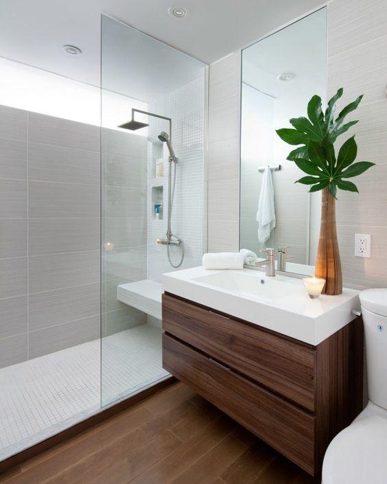 Amenager Une Petite Salle De Bain Avec Douche Et Wc