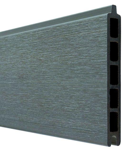 cloture modulable en lames de bois composites et aluminium boston