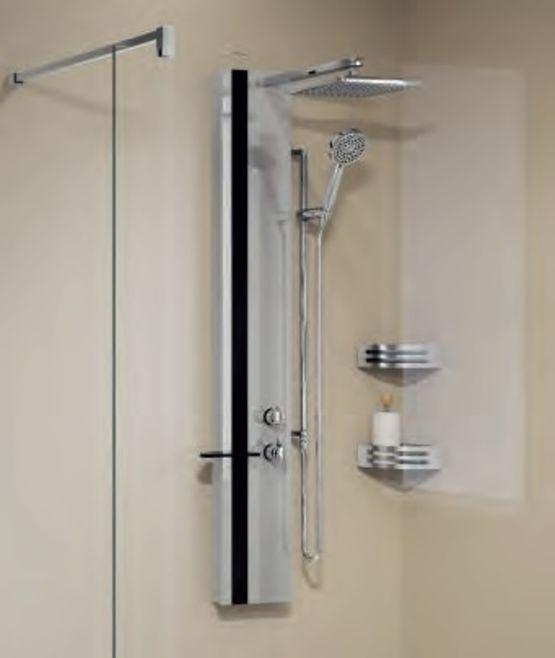 colonne de douche avec mitigeur mecanique ou thermostatique line 1