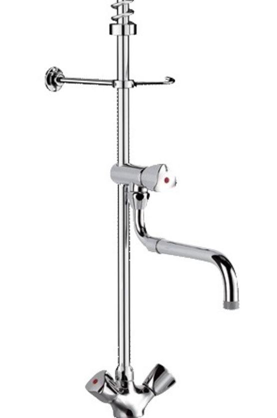 combine de prelavage monotrou avec robinet de puisage ref g6632