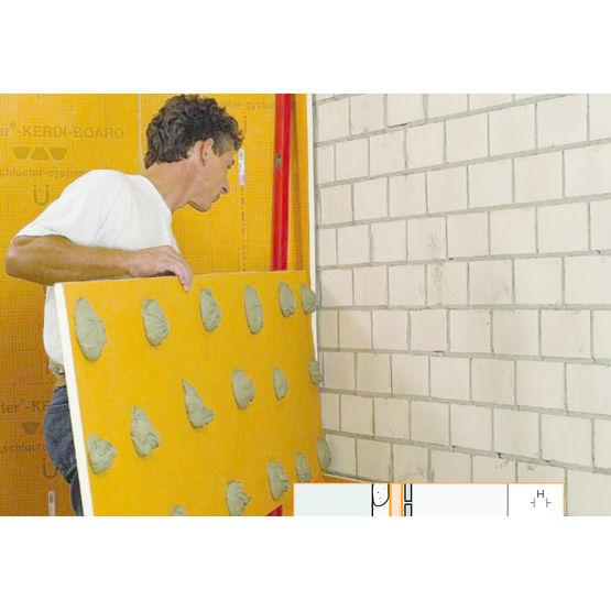 panneaux d agencement prets a carreler pour salle de bains schluter kerdi board